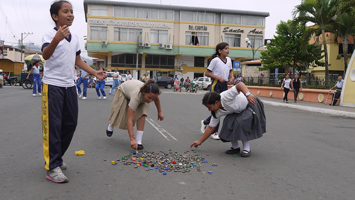 Juegos Populares Fueron Resaltados En Un Festival El Diario Ecuador