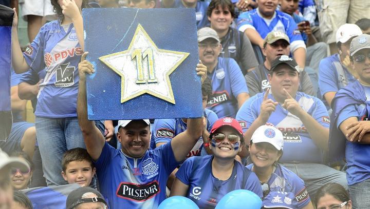 Emelec alcanza su corona 11 en el estadio Reales Tamarindos