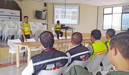 370 policías brindarán seguridad en el partido de Liga de Portoviejo y Delfín