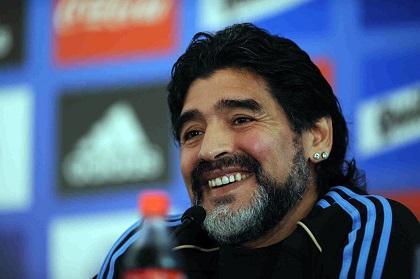 Maradona confía en que Argentina será el campeón del Mundial 2014