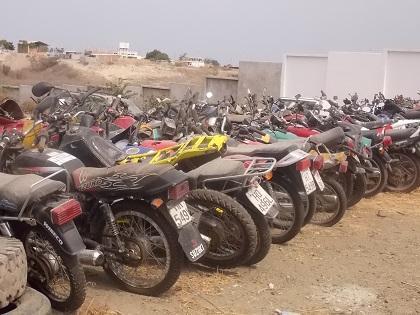 Recuperan motocicleta robada en Manta