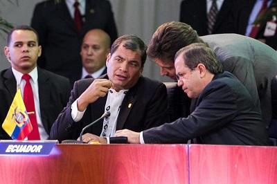 Ecuador asume la coordinación de la zona económica ALBA-Petrocaribe
