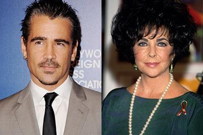 Colin Farrell revela que tuvo una 'relación romántica' con Liz Taylor
