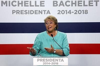 Bachelet quiere una nueva constitución