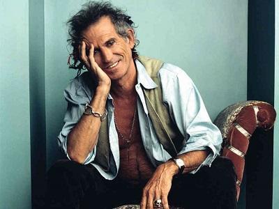 Keith Richards, de los Rolling Stones, cumple 70 años