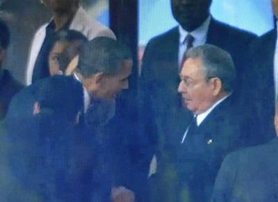 'Señor presidente, yo soy Castro', le dijo el mandatario de Cuba a Obama