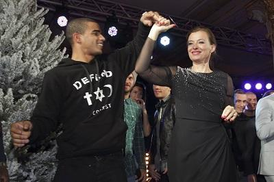 La primera dama francesa bailó con el exnovio de Madonna