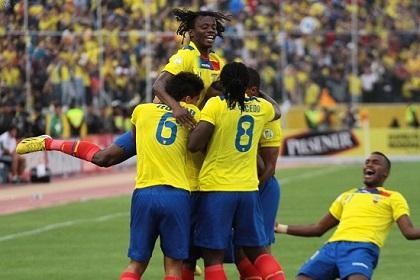 La Selección de Ecuador se ubica en el puesto 23 del ranking FIFA