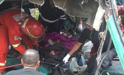 16 muertos y 59 heridos en accidente en Perú