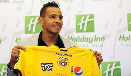 Wilder Medina deja Barcelona para regresar a Colombia