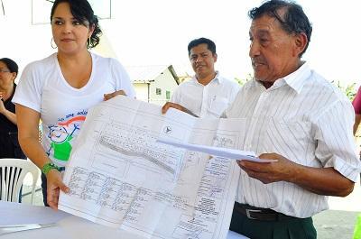 Alcaldía de Santo Domingo entregó planos