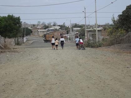El Barrio Santa Isabel no tiene agua potable
