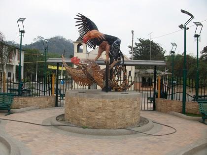 Inauguraron el parque de Los Gallos en Campozano