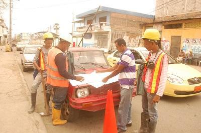 El municipio ha cerrado 40 tuberías clandestinas en Portoviejo