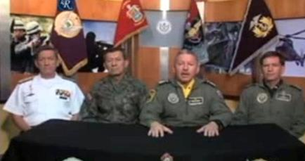 Las FF.AA. aclaran polémica por video
