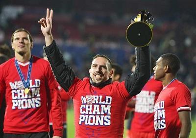 Franck Ribéry es elegido como el 'hombre del año', por publicación alemana
