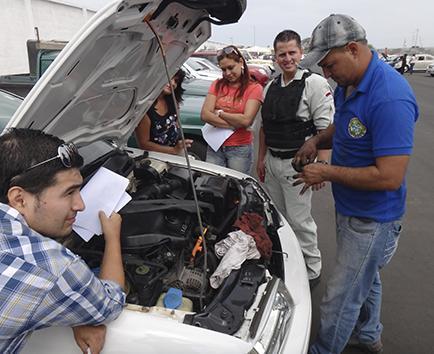 Se vence el plazo para matriculación vehicular