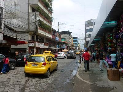 Inseguridad en el casco comercial de Santo Domingo