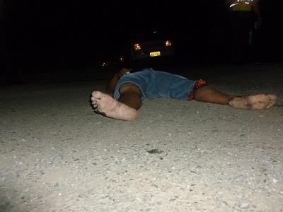 Cuerpo sin vida de hombre atropellado en la vía a Quevedo continúa en el Centro Forense