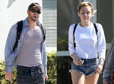 Miley Cyrus y el actor Kellan Lutz fueron captados juntos
