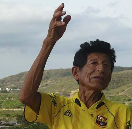 """""""Chigualos"""": se cantaba, se bailaba y enamoraba, explicó josé delgado, del cantón manta"""