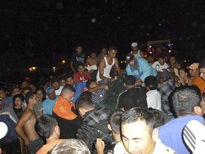 Motociclista muere arrollado por un vehículo en vía Santa Ana-Portoviejo