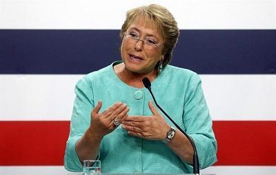 Bachelet regresó a la Presidencia chilena con promesas de más justicia social