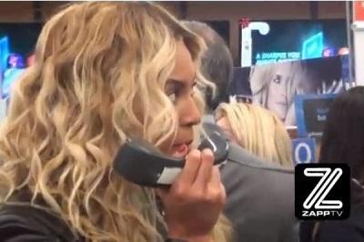 Beyoncé compra 750 regalos navideños en visita sorpresa a una tienda
