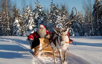 Estados Unidos 'autoriza' la entrada de Santa Claus y sus renos