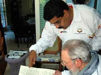 Maduro tuvo 'largas conversaciones' con Fidel Castro en Cuba