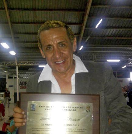 Aurelio Heredia, 'Mejor Actor Nacional del 2013'