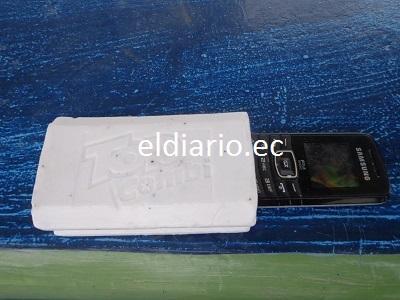 Reos escondían sus celulares dentro de jabones