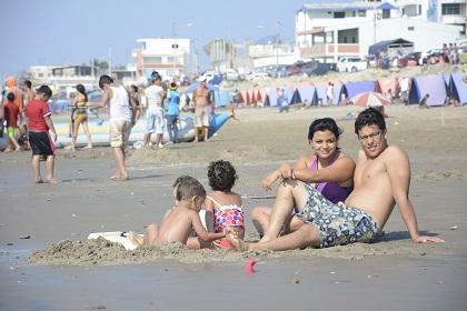 Crucita recibió a cientos de turistas en esta Navidad