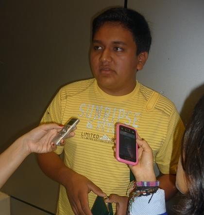 Joven santodomingueño recibe beca para estudiar Mecatrónica en Estados Unidos
