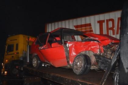 Triple choque deja tres heridos en Santo Domingo