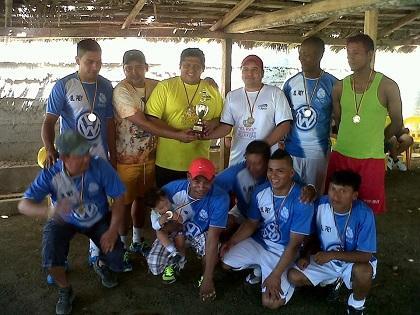 'El Rey' se coronó campeón en torneo de fútbol