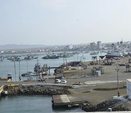 Interesados en concesión recorrieron el Puerto