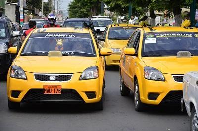 1.100 taxis de Portoviejo tendrán taxímetros desde enero