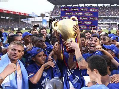 Emelec y otros 9 equipos son los reyes de Sudamérica