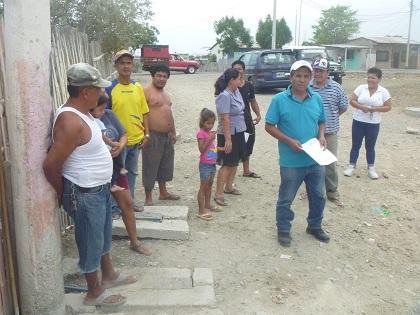 En el barrio Nueva Esperanza quieren que construyan calle que conecte con la vía Circunvalación