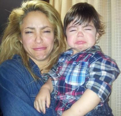 Shakira y su hijo desearon Feliz Navidad con tierna foto