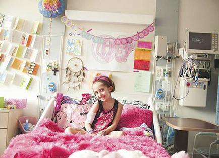 Una niña y su lucha contra el cáncer conmovieron en la red