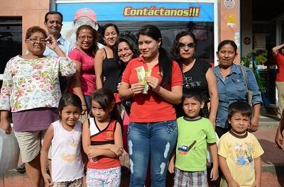 Centro ya tiene a sus dos ganadores de la promoción El Carrito Regalón