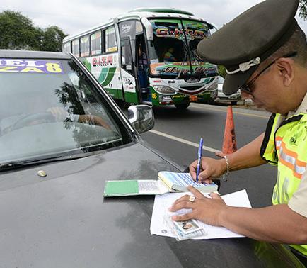 774 conductores han sido sancionados por exceso de velocidad
