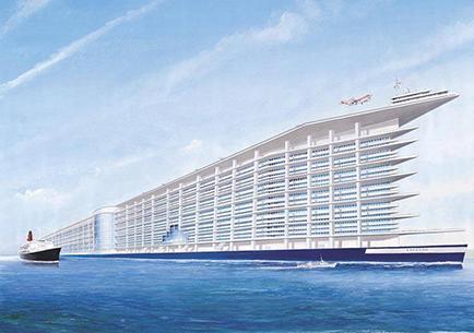 Construirán un barco más grande que el Titanic