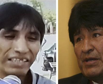 Hombre dice ser hijo del presidente Evo Morales