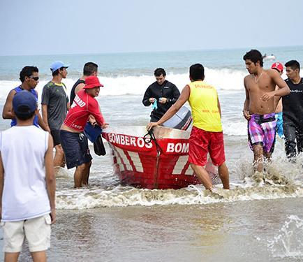 Los bomberos cuidarán de las playas rurales