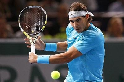 Rafael Nadal es eliminado de la exhibición de tenis de Abu Dabi