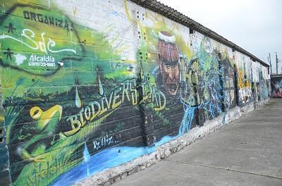 Grafiteros de Santo Domingo piden espacio