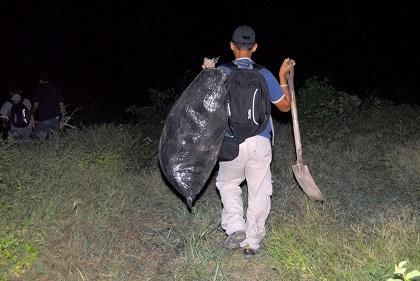 21 kilos de droga fueron encontrados en la playa San José de Montecristi